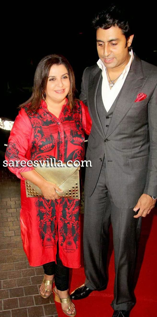 Abhishek Bachchan and Farah Khan