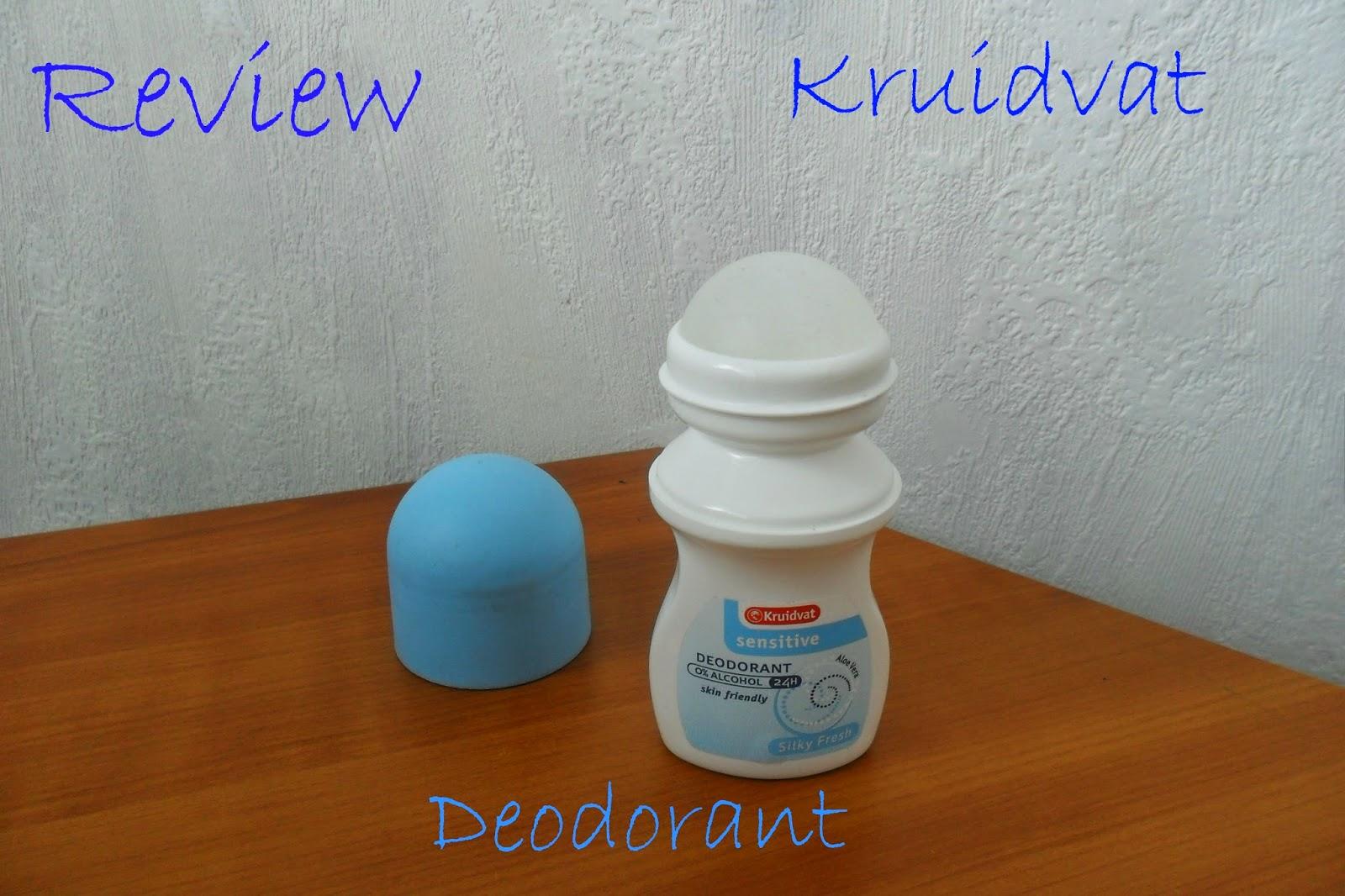 Mylifeasfanta Review Kruidvat Deodorant Roller