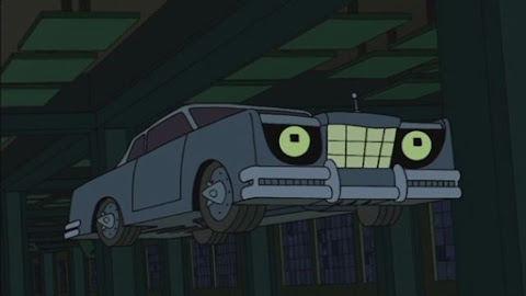 Bender,the were-car