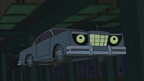 Bender,the were-car