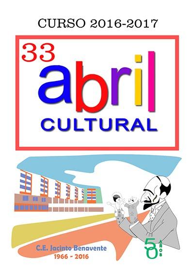 33 ABRIL CULTURAL 2016-2017