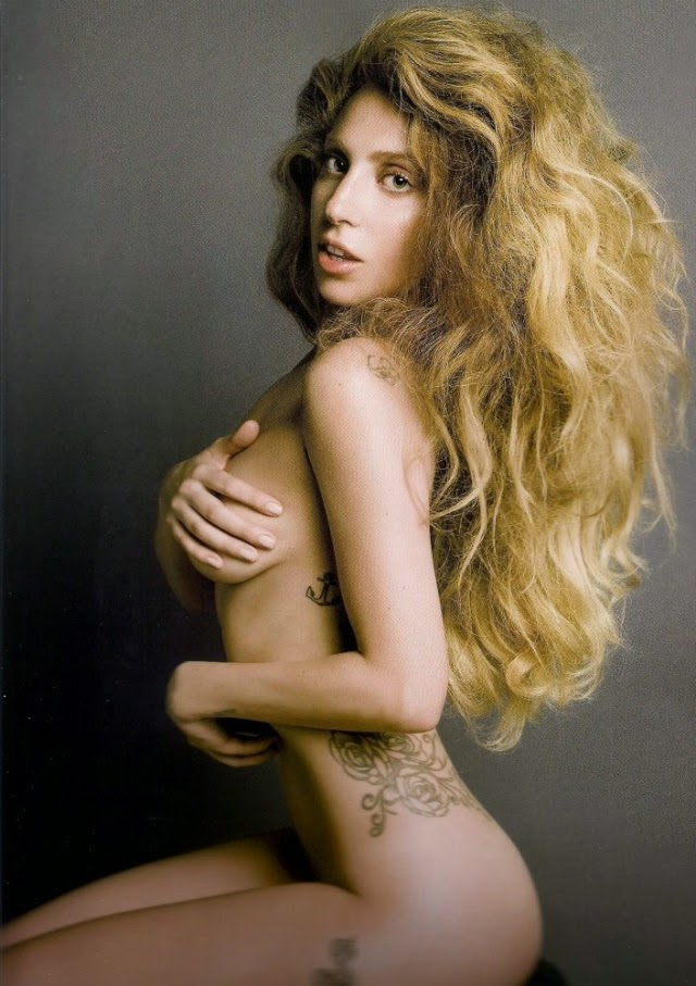 1 de las fotos más sexys de Lady Gaga