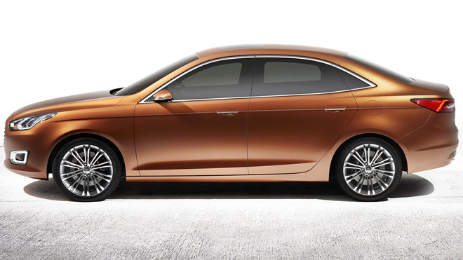 Ford Motor Company Debuts Escort Compact Concept Vehicle