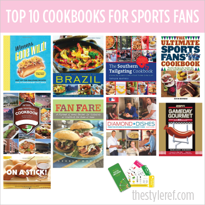 Top 10 Cookbooks for Sports Fans