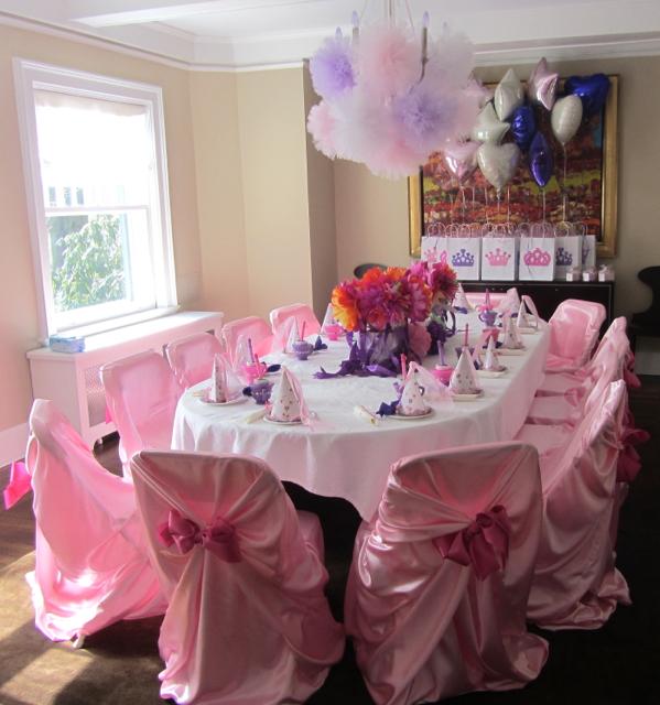 Rachael dorr princess tea party ideas for Tea party decoration ideas