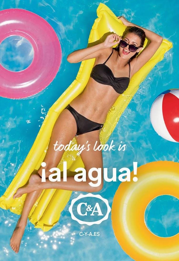 ¡Al agua con C&A!