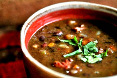 Healthy Dining on a Dime: Spicy Black Bean Soup