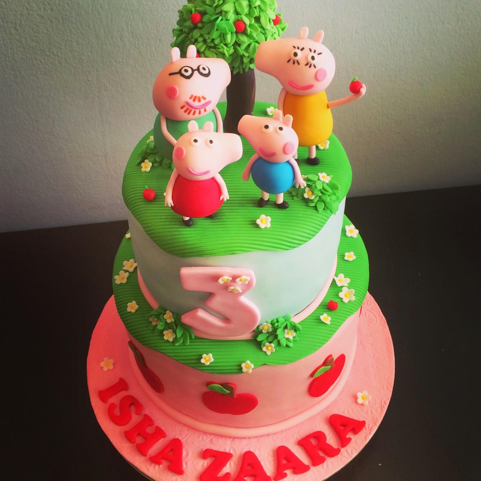 Peppa Pig Cake Stand