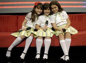 """MARIA JOAQUINA, MARCELINA E VALÉRIA NO """"CANTE SE PUDER"""" CARROSSEL 2012 SBT BRASIL"""