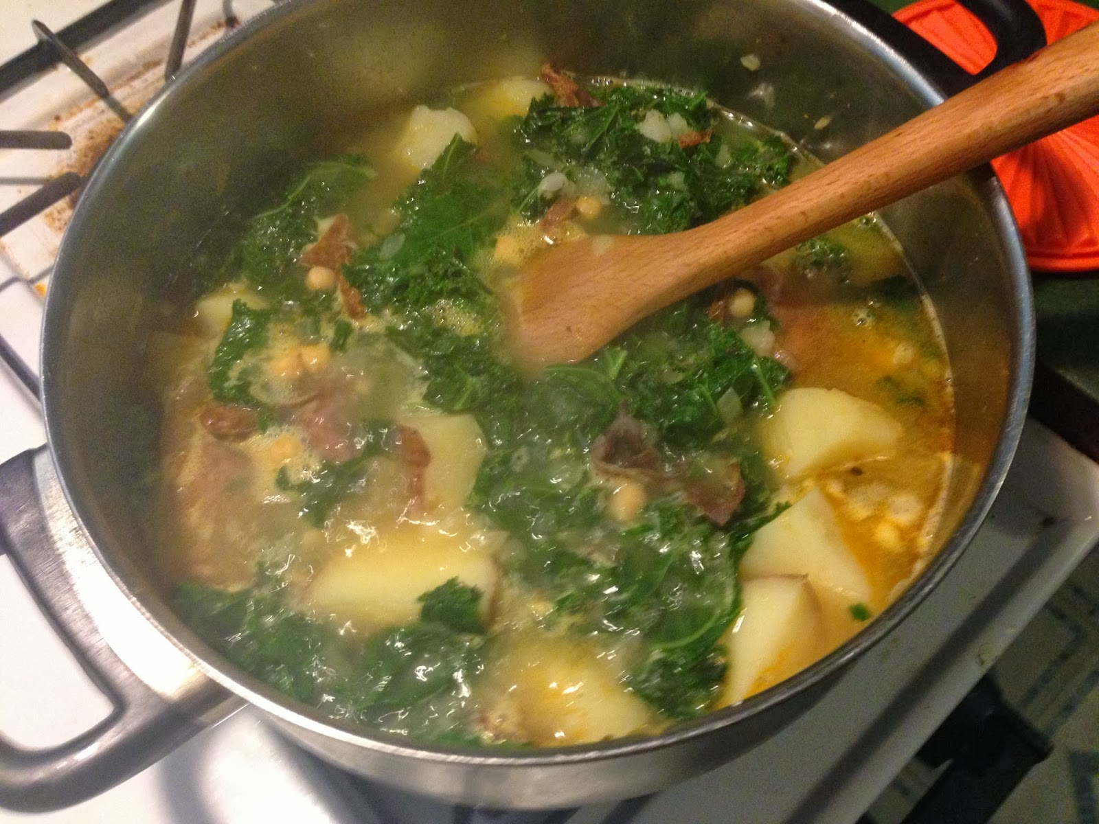 Navy Bean Soup With Kale, Preserved Lemon, And Harissa Recipes ...
