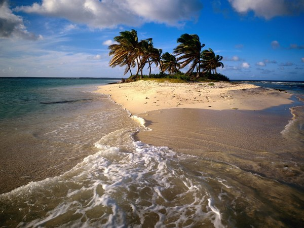Sandy Island Carribean