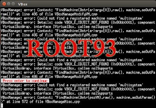 pembuatan mesin virtual baru error
