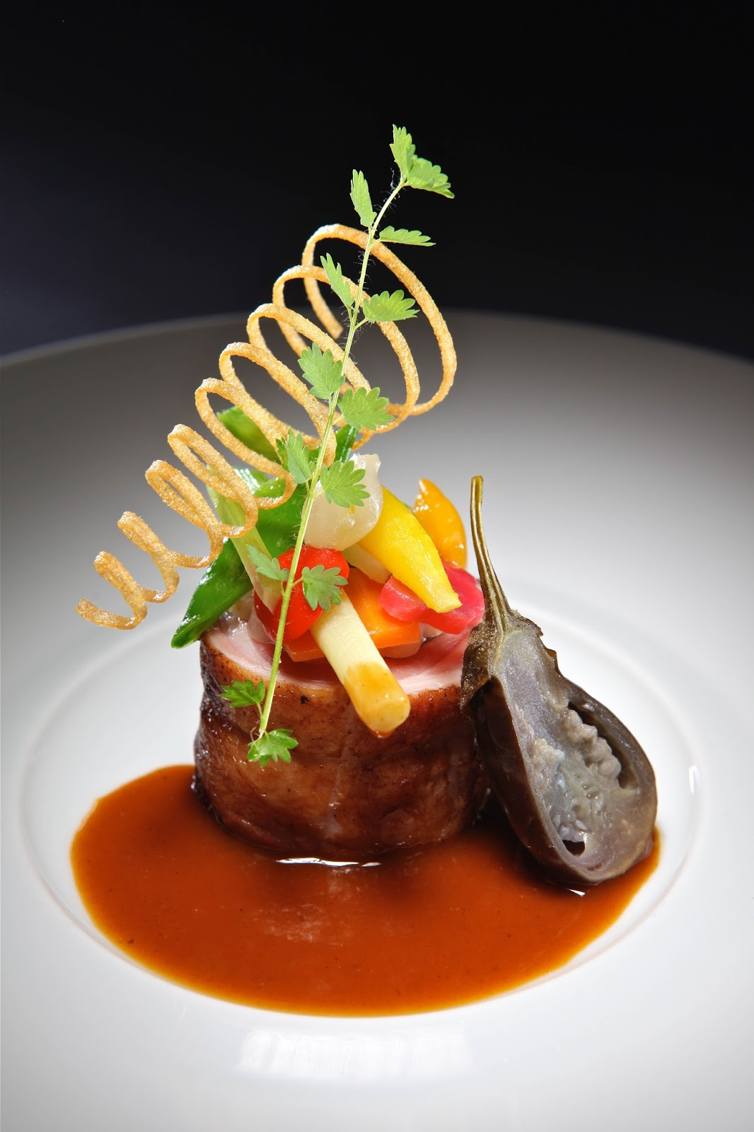 The gallery for indian food plating for 5 star indian cuisine