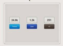 إضافة أزرار المشاركة في المواقع الإجتماعية للمُدونات بلوجر