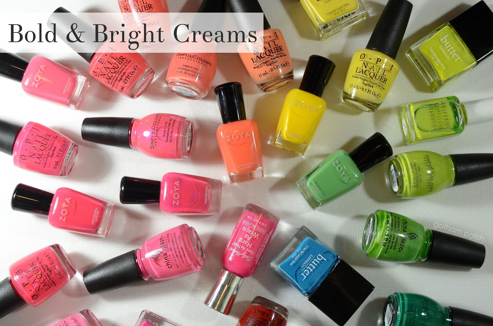 summer 2014 nail polish trends