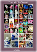 Looking back on some of my cake design 2012