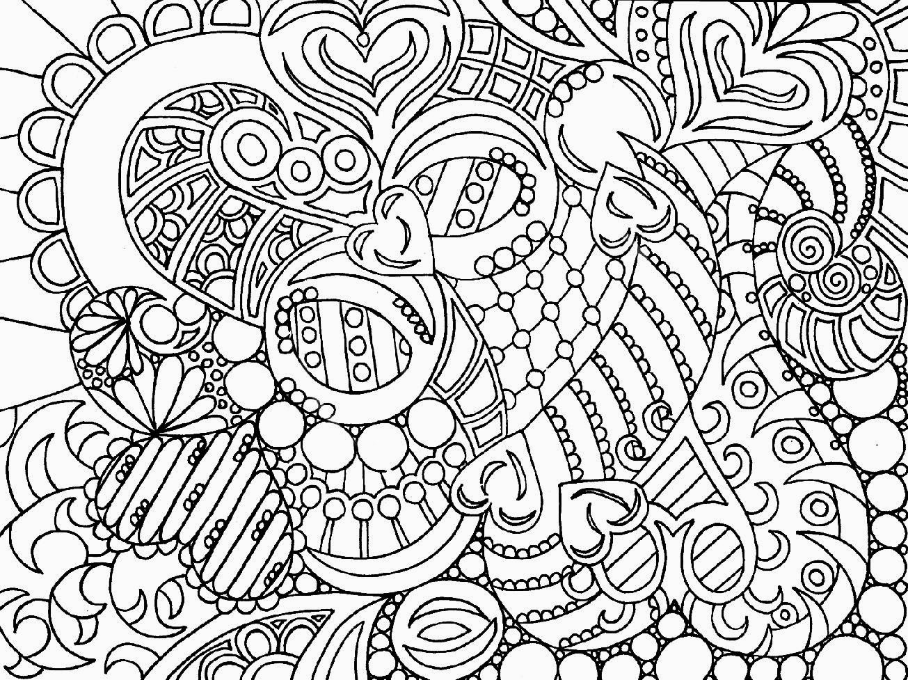 Free Printable Adult Coloring Pages together with large print coloring ...