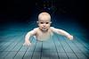 Un bébé dans le futur
