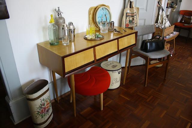 loja vintage, Aveiro, a Porta Verde, decoração vintage, móveis vintage