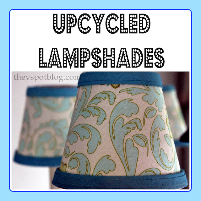 paisley, riley blake designs, lampshade, chandelier, turquoise