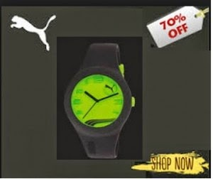Jabong: Buy Puma watches 70% off with 28% off from Rs. 794