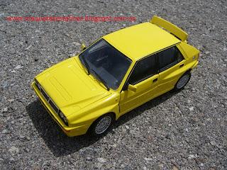 Lancia delta HF integrale a escala 1/24 diecast
