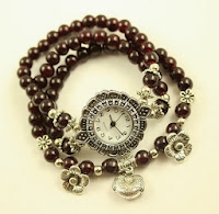 Jam Tangan Unik Bohemian Watch Coffee