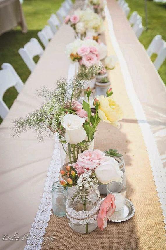 10 centros de mesa para bodas vintage - Centros mesa boda ...