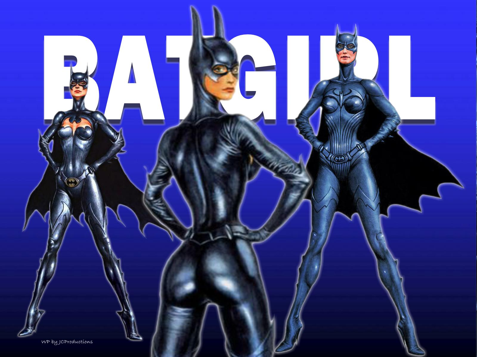Batgirl Cartoon Wallpaper