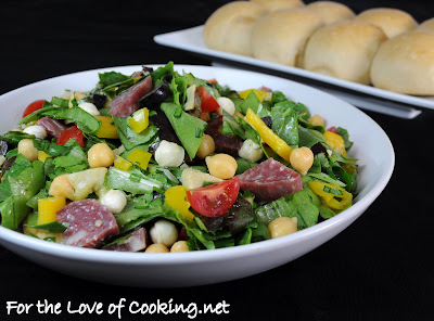 Chopped Italian Deli Salad