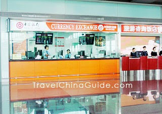 Currency Exchange, Bank of China