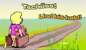 Deutsch ist lustig: TSCHÜSS