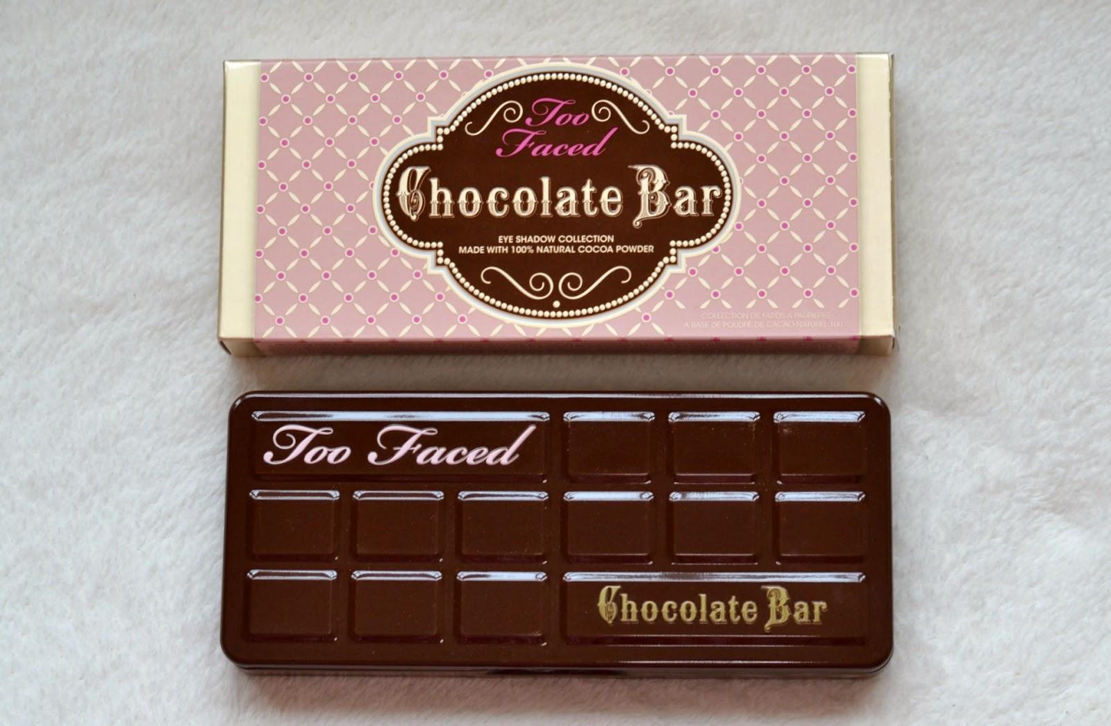New Too Faced Chocolate Bar Eyeshadow Palette Yummy