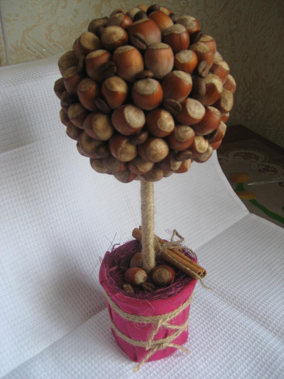 Как сделать дерево из сушек