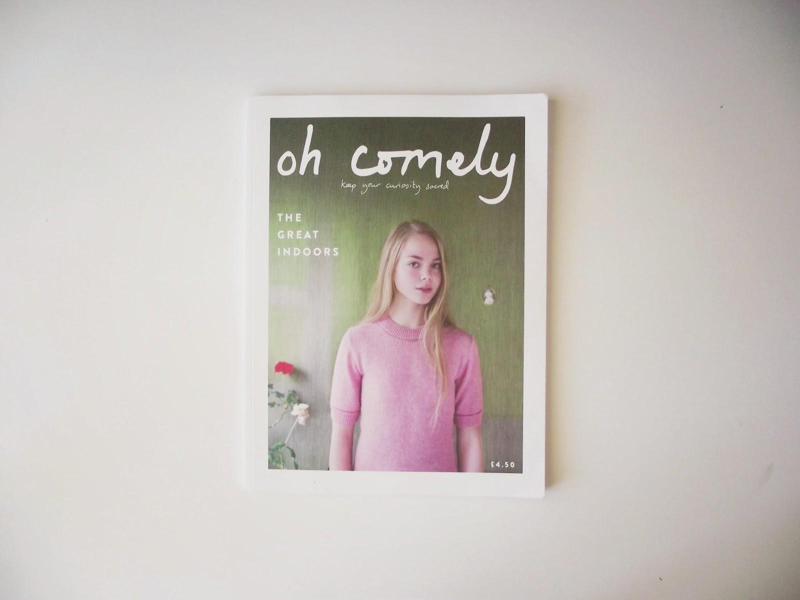 Oh Comely Magazine, magazine of the moment, insightful magazines