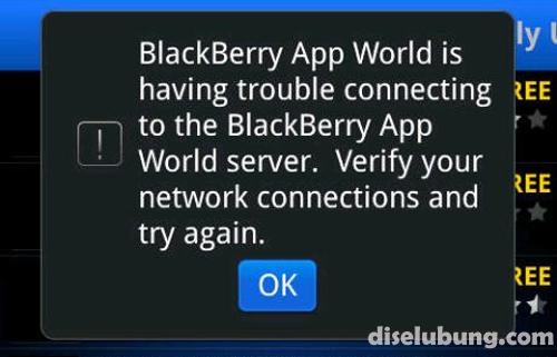 Penyebab BlackBerry Sering Error