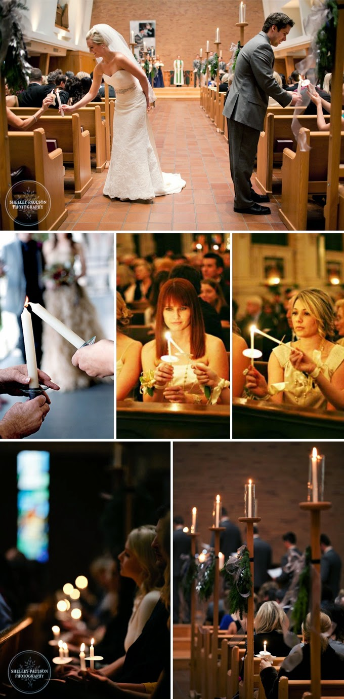 Reverse Unity Candle Wedding Ceremony