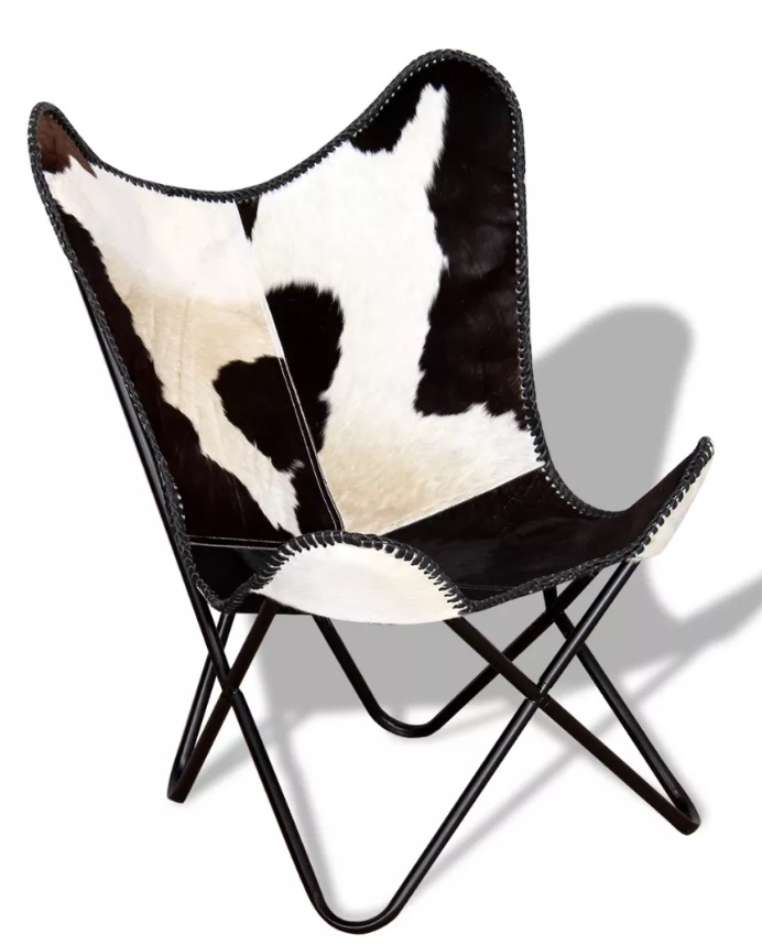Fotel skórzany BLACK