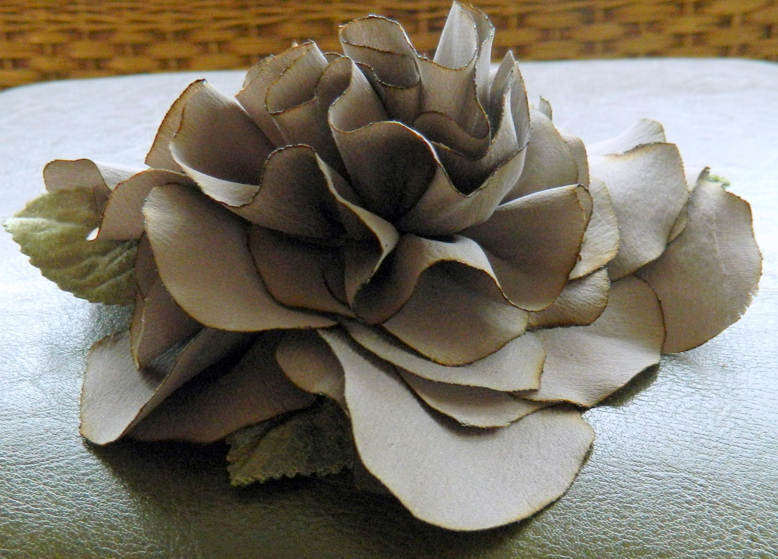 The Other Side Of Deb Silk Flower Pin