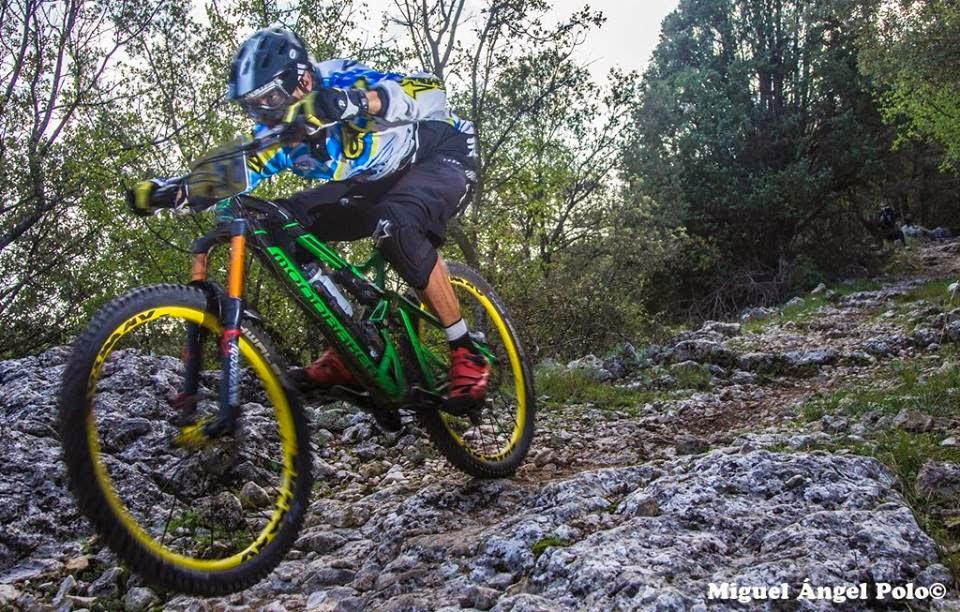 Enduro Race Morella singletracks