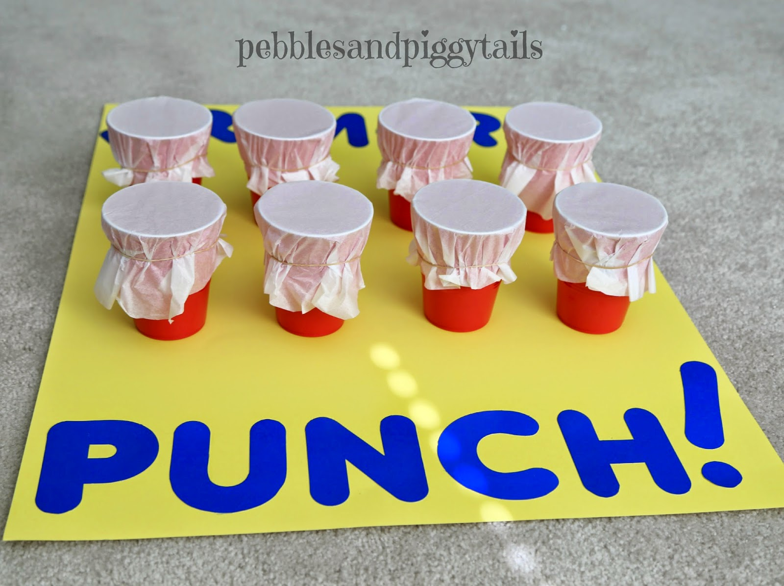 how to build a punch game
