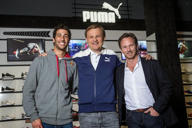 Puma volverá a Red Bull en 2016