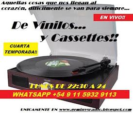 DE VINILOS Y CASSETTES