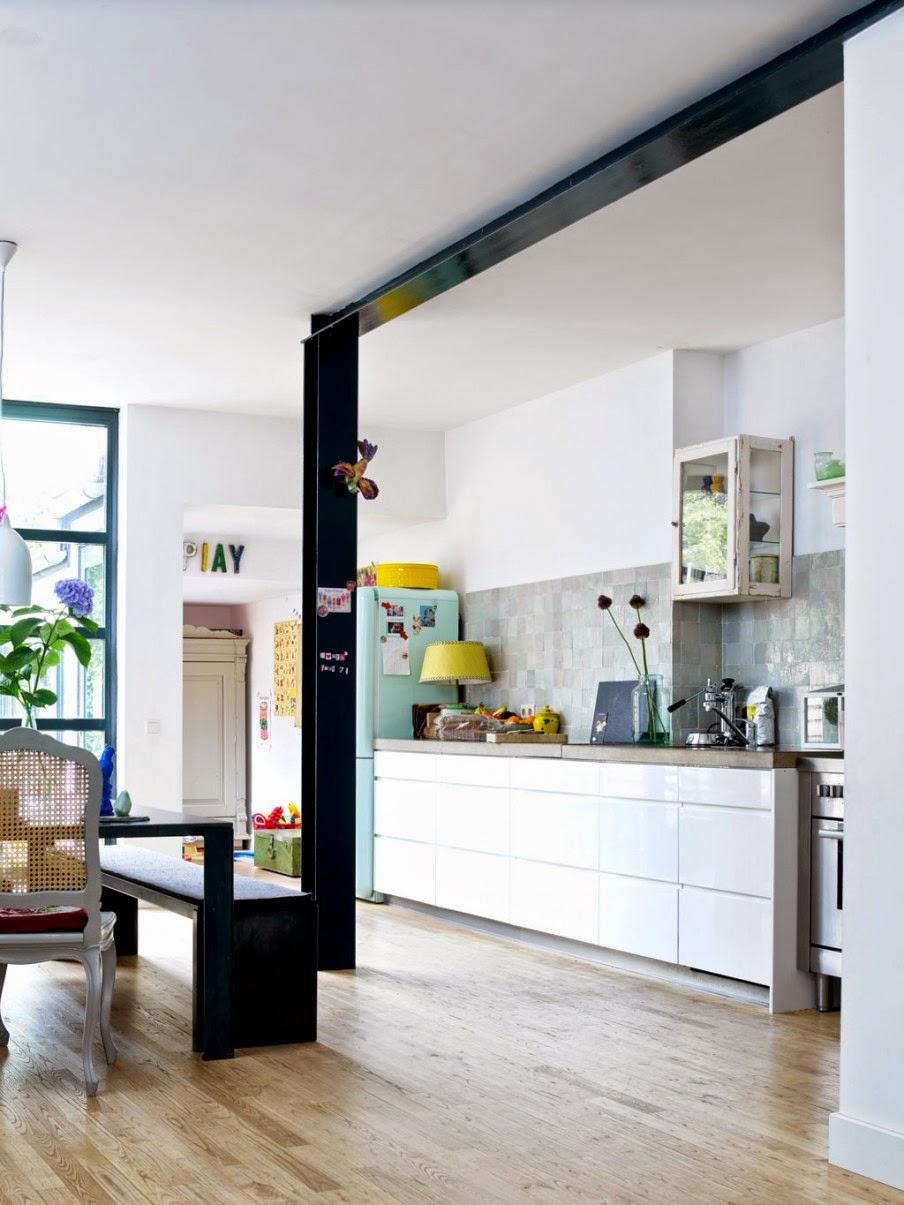 Atelier rue verte le blog pays bas une petite maison tr s color e - Keuken recup ...
