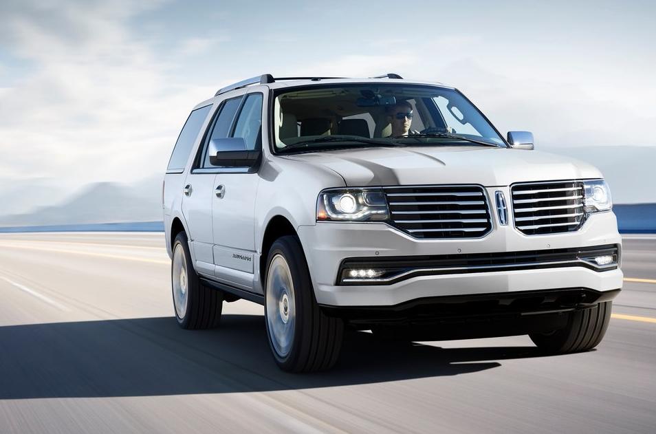 2015 Lincoln Navigator white