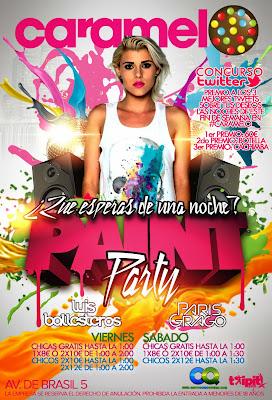 Paint party en caramelo viernes 15 de noviembre