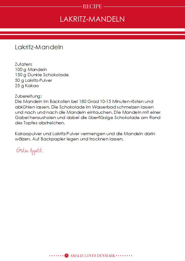 Amalie loves Denmark Lakirtz-Mandeln