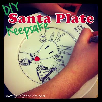 DIY Santa's Plate Keepsake
