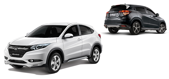 Honda HR-V Modulo and MUGEN variants