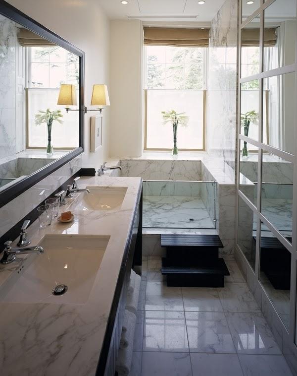 Baño En Dormitorio Pequeno:15 fotos de baños pequeños – Colores en Casa